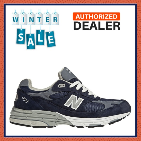 low priced 68b2c 1c684 New Balance Men's Classic 993 Running Shoes Blue NWT